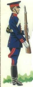 (2) Guardia en uniforme de servicio diario.