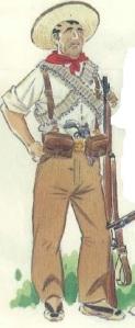 (1) Miliciano andaluz. 1936