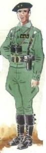 (3) Capitán habilitado de las compañías de carros ligeros de la Legión. 1938-39