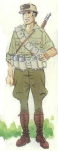 (7) Dinamitero del quinto Regimiento. 1936