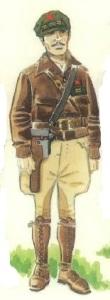 (4) Teniente de Caballería. 1937
