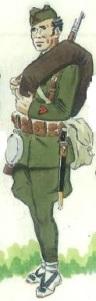 (6) Cabo del Ejército Popular en uniforme de campaña. 1937