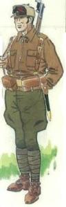 (7) Voluntario de la columna Durruti. 1936