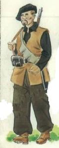 (1) Voluntario de la XI Brigada.