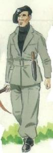 (2) Voluntario del Batallón de la Muerte de Malatesta.