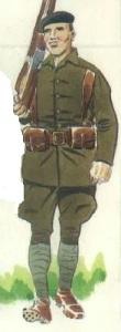 (3) Voluntario del Batallón París.