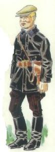 (4) Tanquista ruso. 1937