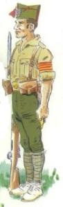 """(5) Soldado de la Columna """"Pi y Suñer"""""""