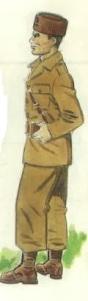 (3) Alumno de las Escuelas Populares de Guerra.