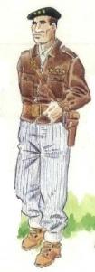 (2) Capitán de gudaris. 1936