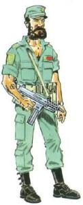 (4) Cabo de la S.O.E. (Sección de Operaciones Especiales).