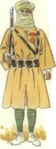 (3) Cabo de tiradores en uniforme de campaña. 1936