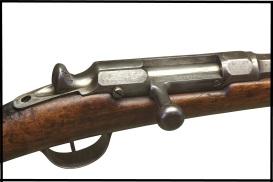 Fusil Chassepot: La mayor parte de las tropas  francesas estaban armadas con este fusil monotiro accionado por cerrojo. Era un rifle mejor que el prusiano, pero no evitó la derrota.