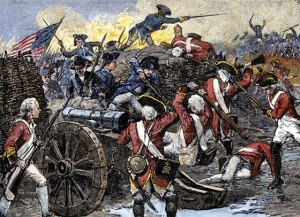 Continental-Troops-capture-British-guns