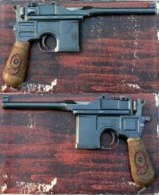 Pistola C96 doble