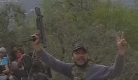 Miliciano sirio con un Sa-25.