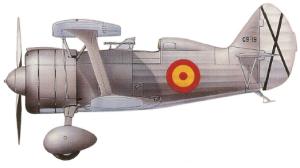 Polikarpov I-15bis, Ejército del Aire Español, 1940-53.