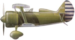 11-Polikarpov I-15bis China nacionalista