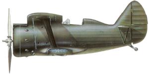 Polikarpov I-153, ejécito nacionalista chino, 1938-39.