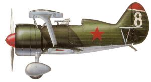 Polikarpov I-15bis, Unión Soviética, 1938-39.