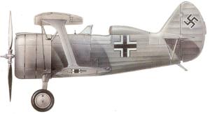 Polikarpov I-15bis, Luftwaffe, 1941-45.