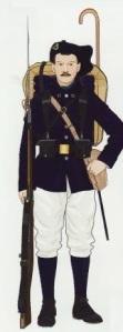 13- Chasseur a Pie infanteria de montaña