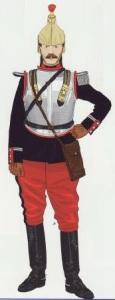 18- Teniente coraceros