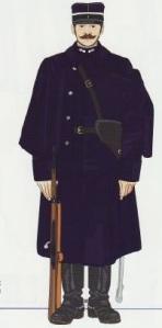 35- Gendarme Montado