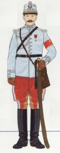4- Oficial Husares