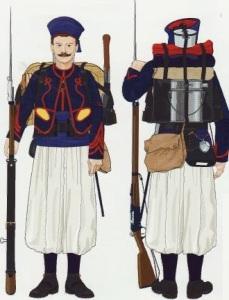 43- Zuavo Uniforme