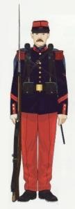 6- Infantería uniforme parada