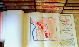 Mapas despegables sobre el sector de Teruel.