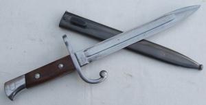 Bayoneta del fusil mauser M1889