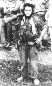 Roberto Rodríguez Fernández, El Vaquerito, jefe del Pelotón Suicida.